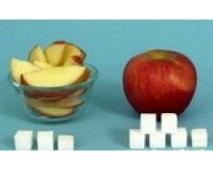 azucar manzana